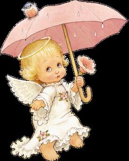 Ангелок с зонтиком (АП-11)