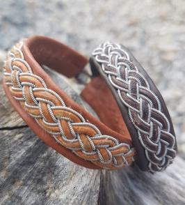 Armband mit Zopf Kayla