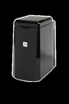 TM Milchkühler 1 Liter schwarz / silber