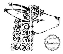 Plottdatei Llama-Love
