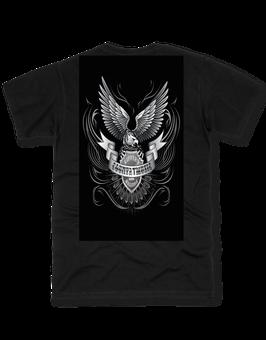 Fan T-Shirt Baumwolle mit Logo groß