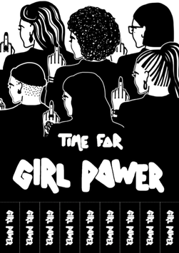 """Plakat """"Time for Girl Power"""""""