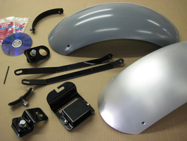 REAR FENDER KIT V-STAR 1100