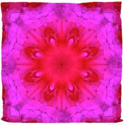 """Kissen """"Kaleidoskop pink"""""""