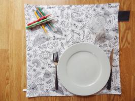 GRAND SET DE TABLE ENFANT/BÉBÉ