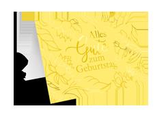 """Karte  """"Alles Gute zum Geburtstag"""""""