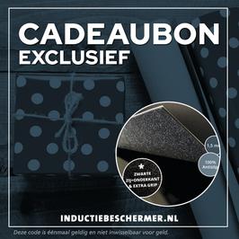 Cadeaubon EXCLUSIEF Inductie Beschermer