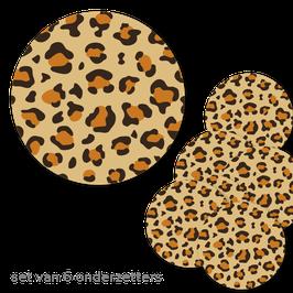 Onderzetters Luipaard