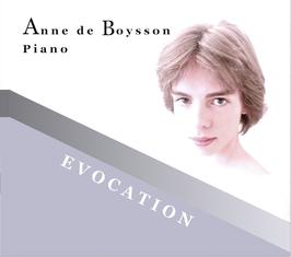 CD Evocation - Anne de Boysson
