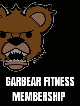 Garbear Fitness Membership - 1 Year Subscription | 2021