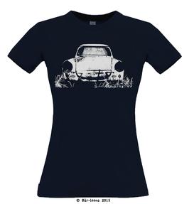 Trabbi T-Shirt · navy · Frauenschnitt