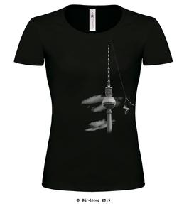 Shoefiti T-shirt · schwarz · Frauenschnitt