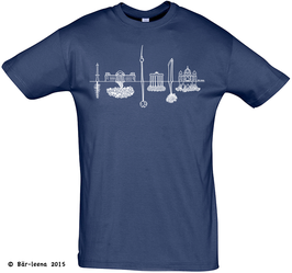 Berlin Skyline T-Shirt · navy