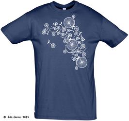 Fahrradturm T-Shirt · navy