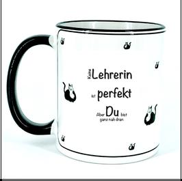 Tasse für Lehrerin, perfekt