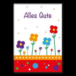 Geburtstagskarte Alles Gute