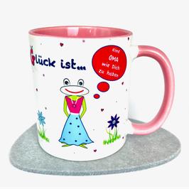 Tasse Glück ist … eine Oma wie Dich zu haben Frosch