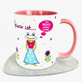 Tasse Glück ist … eine Nichte wie Dich zu haben