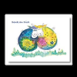 """Geburtstagskarte """"Denk an Dich"""""""