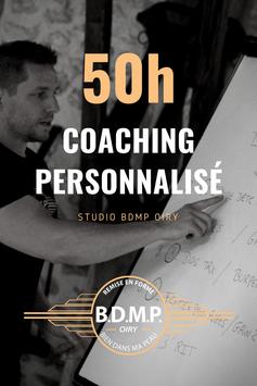 50h00 de coaching personnalisé 2x/semaine