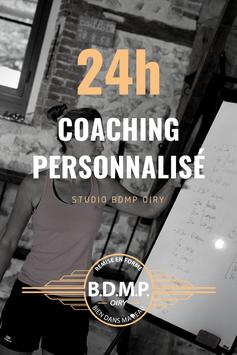 24h00 de coaching personnalisé