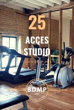 CARTE 25  accès studio