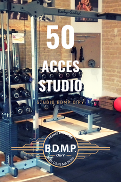 CARTE 50  accès studio