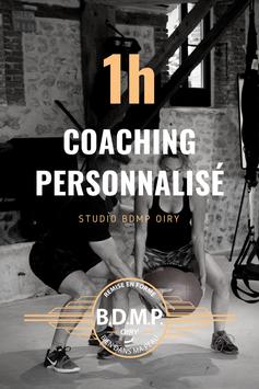 1h00 de coaching personnalisé