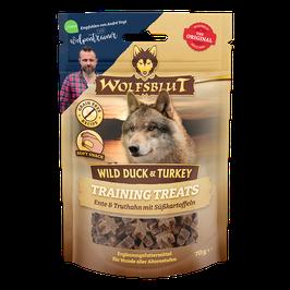 Wolfsblut Training Treats Wild Duck & Turkey 70g