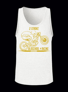 "Träger Shirt ""2 Stroke Oldschool Racing"""