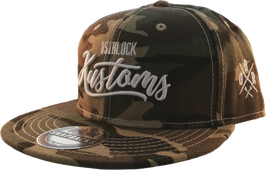 "Snapback ""Ostblock Kustoms Camo"""