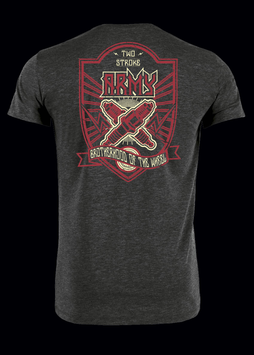 """T-Shirt """"Two Stroke Army"""""""