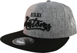 Snapback Ostblock Kustoms Grey