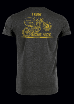 "T-Shirt ""2 Stroke Oldschool Racing"""