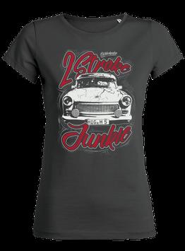 "Lady-Shirt ""2 Stroke Junkie"""
