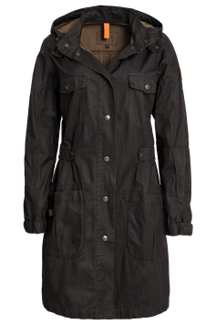Carlay's leichter Damen Parka Brooks im Used Look