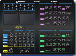 "Novation ""Circuit Midi Editor"" (Vst, AU  and Standalone)"