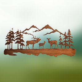 Paesaggio di montagna piccolo Cod Z4