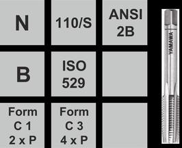 Gewindebohrer N-110/S UNF/ aus Set einzel Stk. Vorschneider Nr. 1