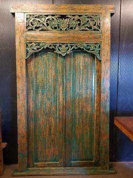Balinese deur Hijau