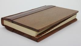 Adressbuch Holz-Leder