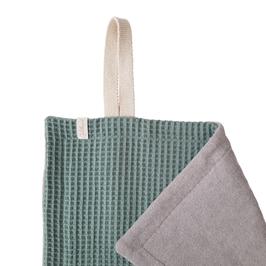 Paw Towel - mint - hellgrau