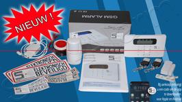 Het Slim Alarm® Compact systeem Nederlands gesproken instructies en APP !