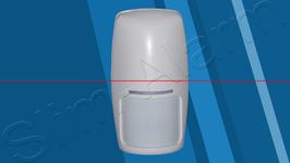 """Passief infrarood detector  PIR  alleen te gebruiken met  het """"CMPACT"""" systeem"""