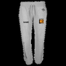TEAM II Long Pants 4HER Grau mit TUSLI Logo und Wunschname