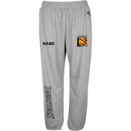 TEAM II Long Pants Grau mit TUSLI Logo und Wunschname