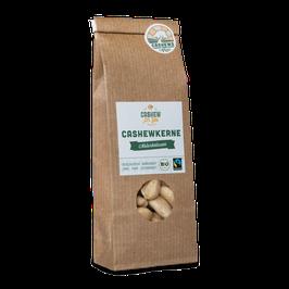 4x 90g faire Bio-Cashews von der Elfenbeinküste: Naturbelassen