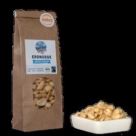 4x 70g faire Bio-Erdnüsse (Usbekistan) - Gebacken & Gesalzen