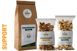 Sponsorenpaket: Unterstütze Cashew for You!