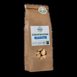 4x 70g faire Bio-Cashews von der Elfenbeinküste: Gebacken & Gesalzen